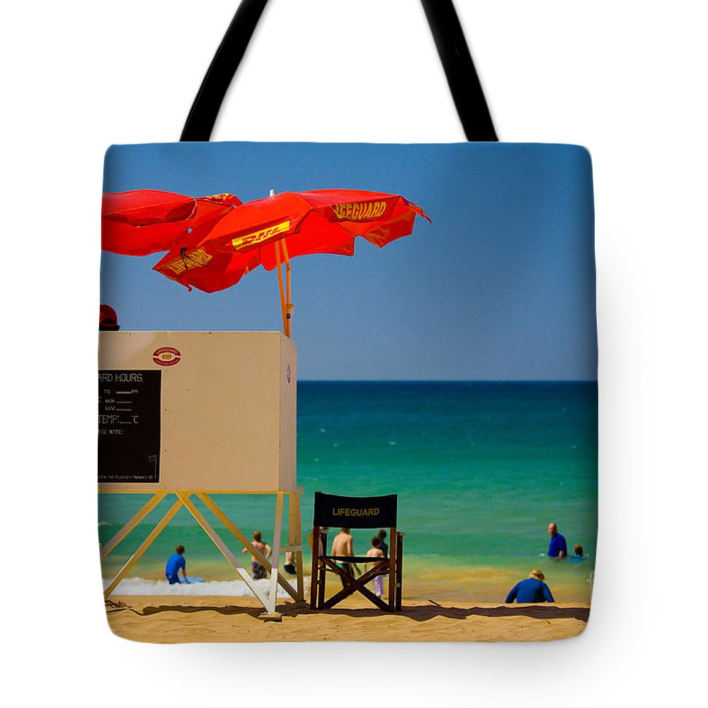 Palm Beach Sun Sea Sky Beach Umbrellas Tote Bag featuring the photograph Palm Beach Dreaming by Sheila Smart Fine Art Photography