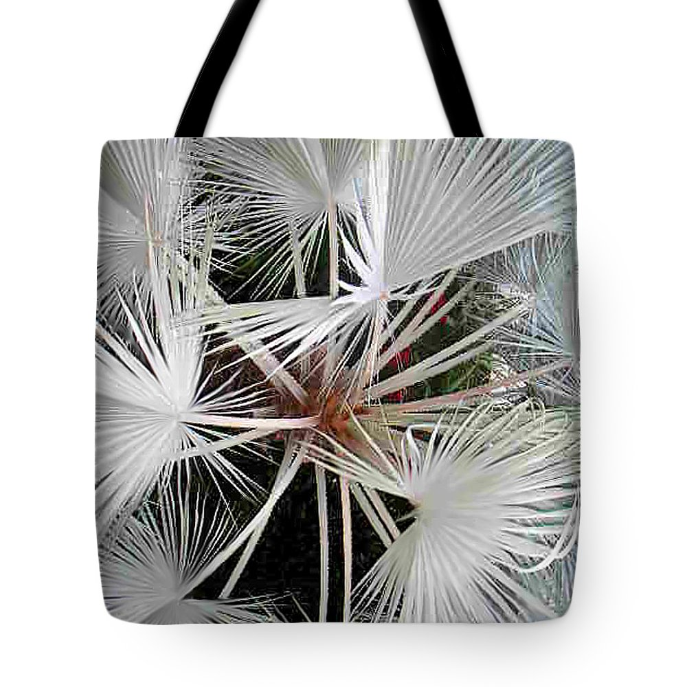 Nature Tote Bag featuring the photograph Palm Wonderful by Lucyna A M Green