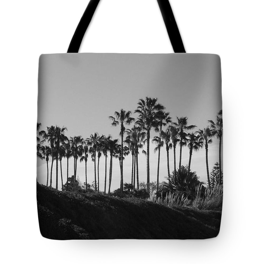 Landscapes Tote Bag featuring the photograph Palms by Shari Chavira