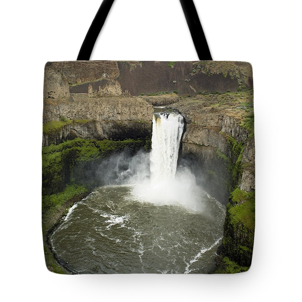 Falls Tote Bag featuring the photograph Palouse Falls State Park by Louise Magno