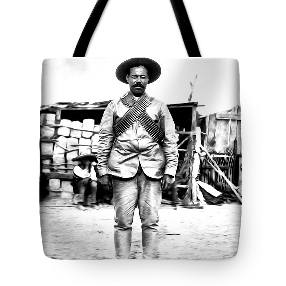 Pancho Villa Tote Bag featuring the photograph Pancho Villa by Bill Cannon