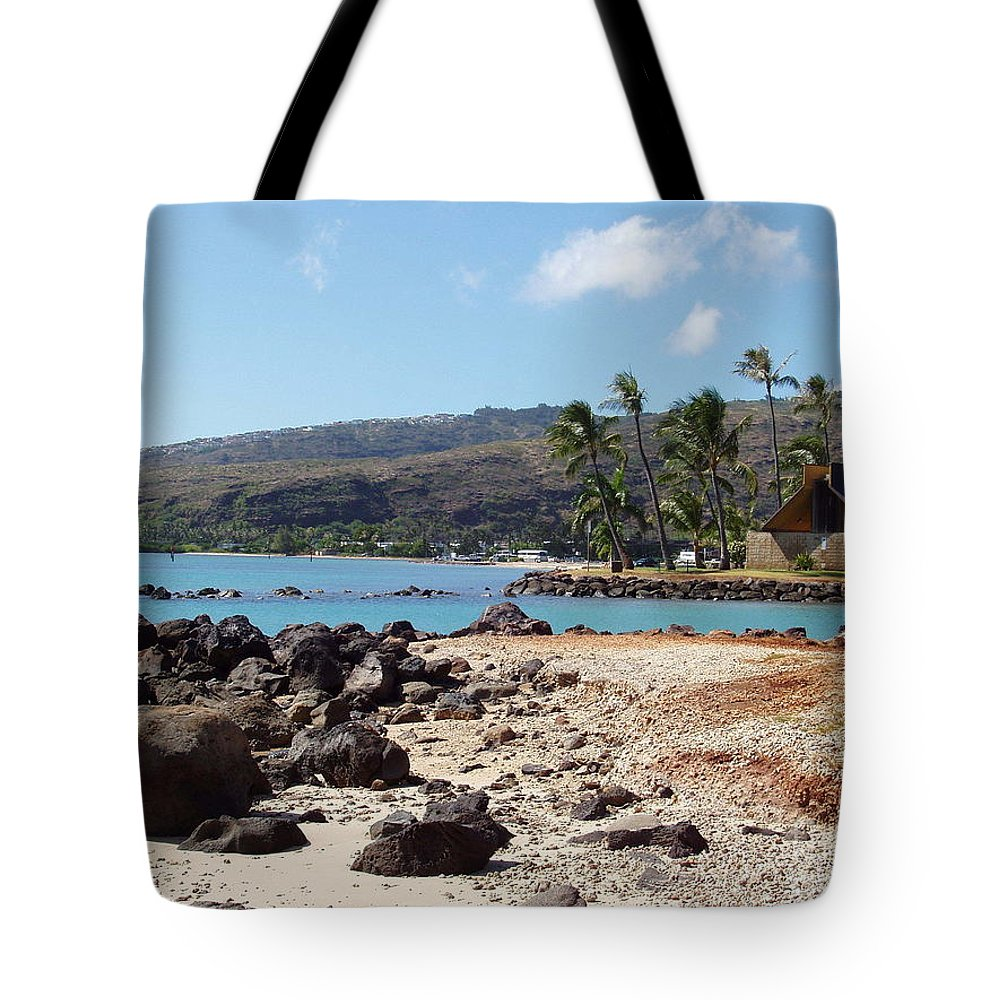 Hawaii Tote Bag featuring the photograph Panorama by Deborah Crew-Johnson