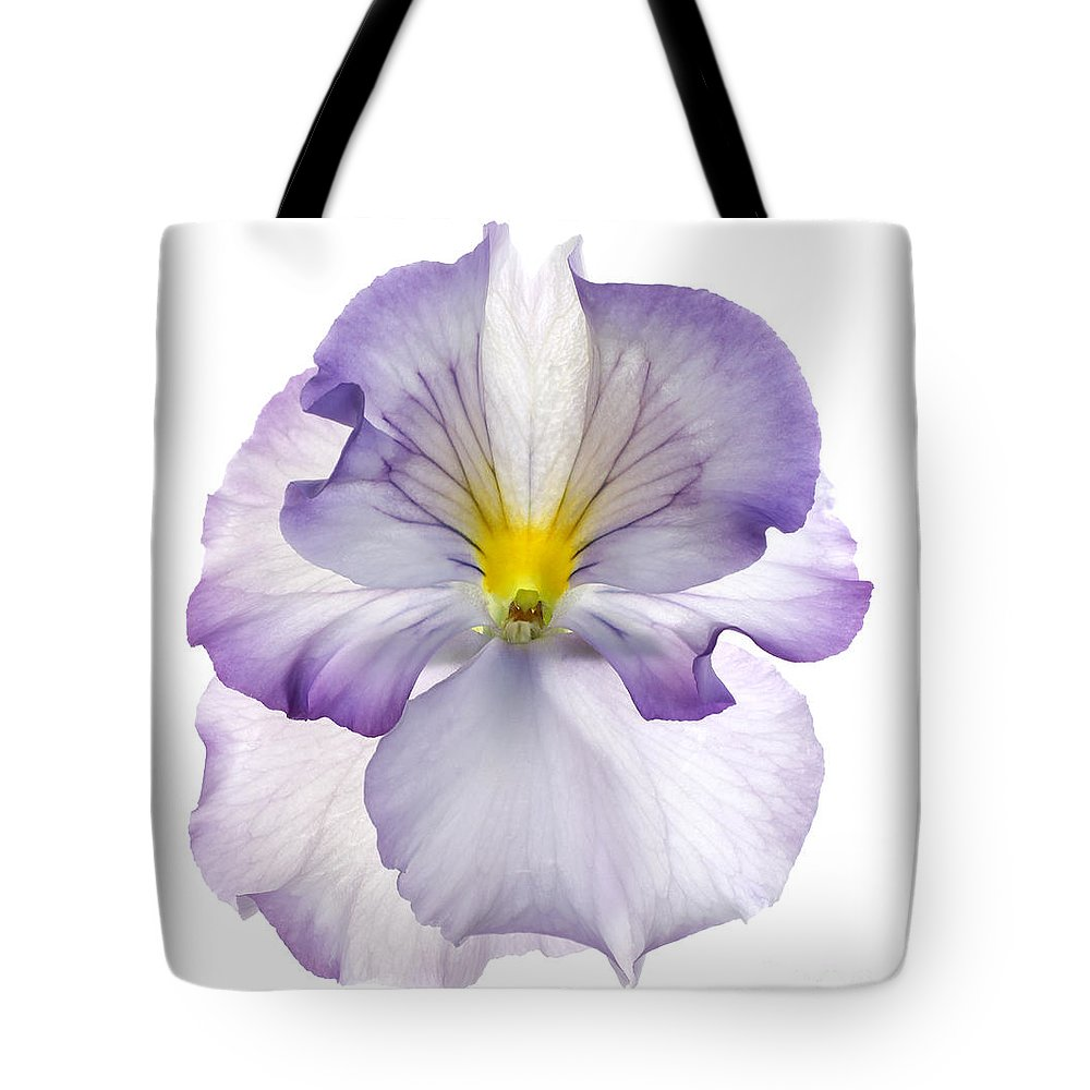 Pansy Genus Viola Tote Bag featuring the photograph Pansy by Tony Cordoza