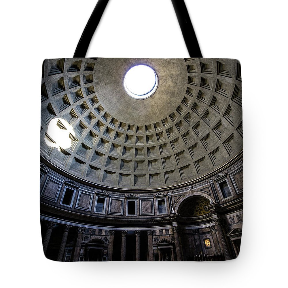 Pantheon Tote Bag featuring the photograph Pantheon by Nicklas Gustafsson