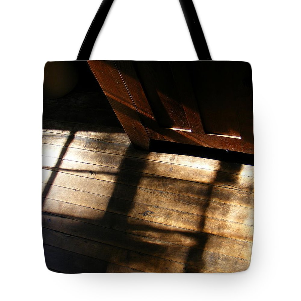 Pantry Light Tote Bag featuring the photograph Pantry Light by Ed Smith