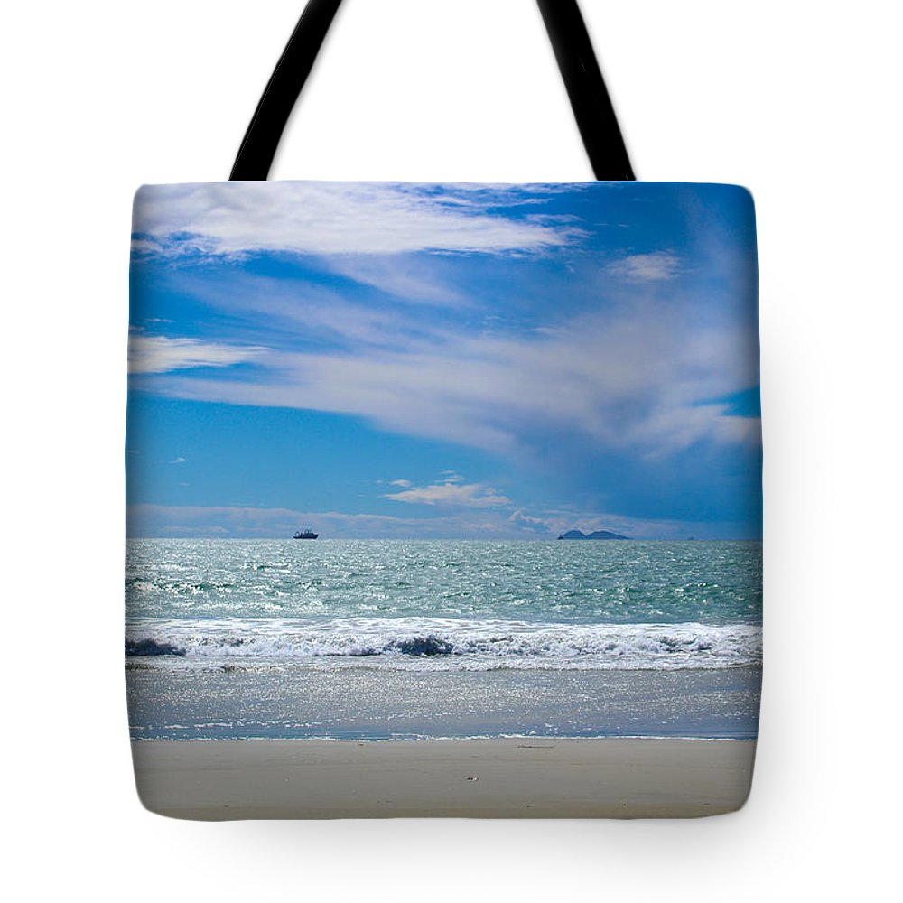 Sandiego Tote Bag featuring the photograph Paradise by Brandon Swanson