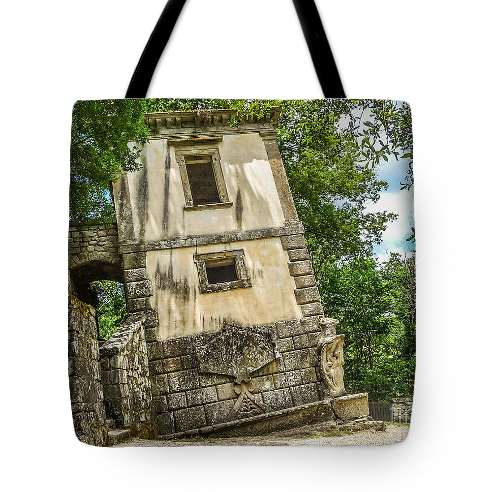 Ancient Tote Bag featuring the photograph Parco Dei Mostri, Park Of The Monster, In Bomarzo by JR Photography