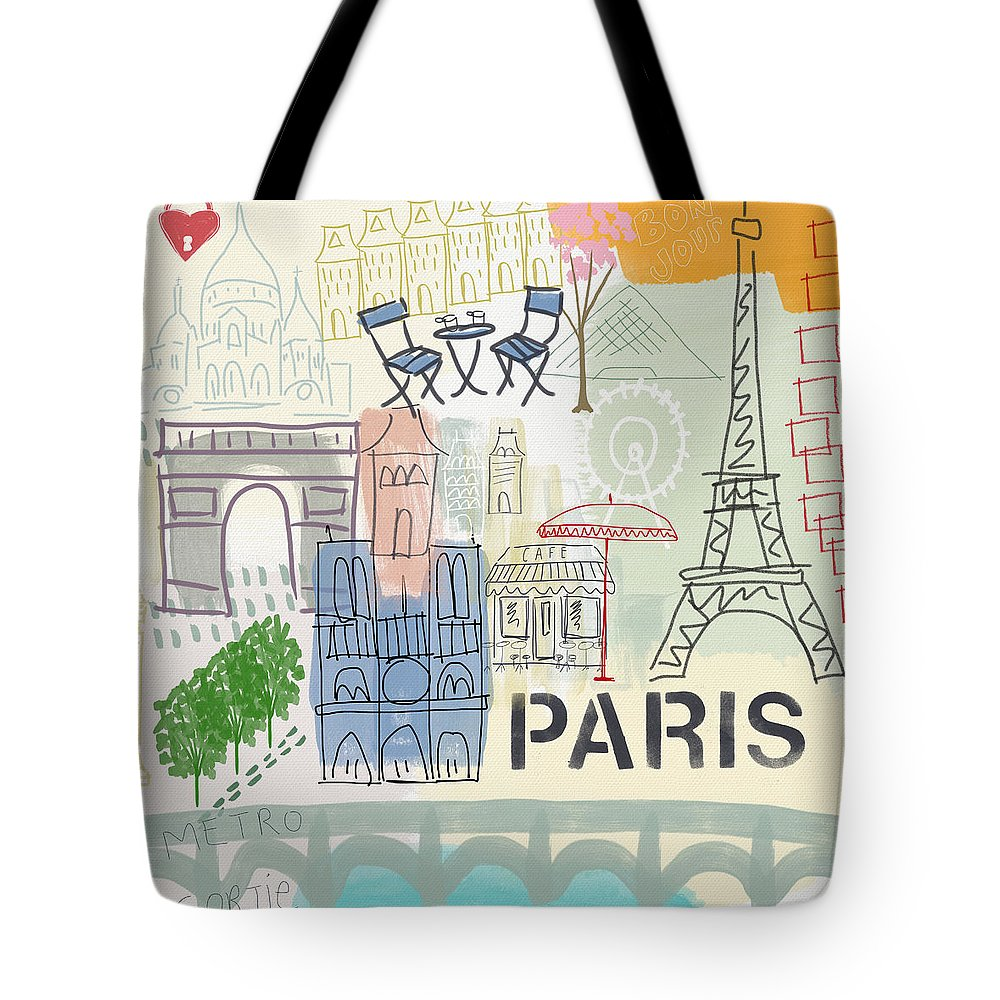 Tower Tote Bags