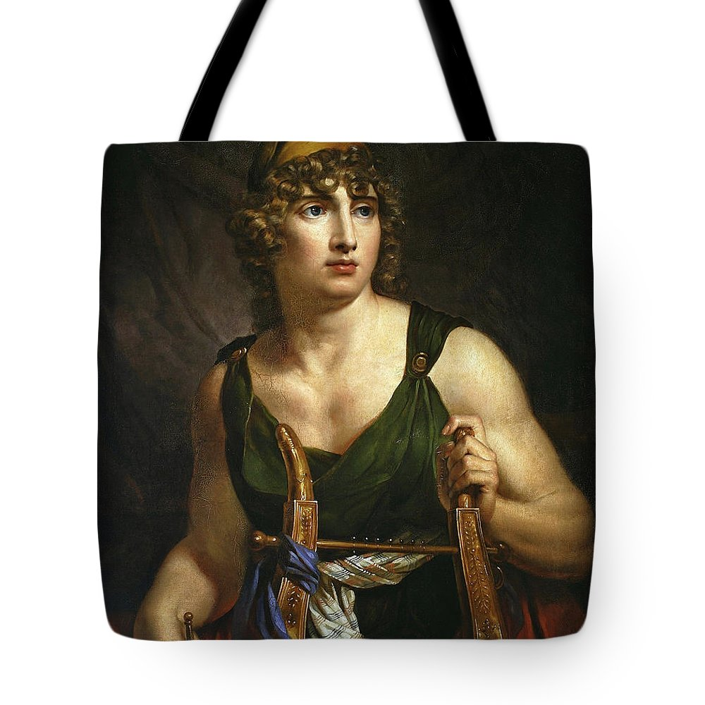 e6d5f7d2901 Antoni Brodowski Tote Bag featuring the painting Paris In The Phrygian Cap  by Antoni Brodowski
