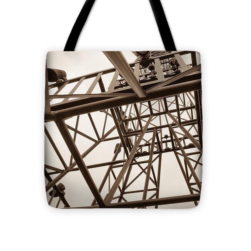Paris Eiffel Tower Pillow 16 X 16: Paris Texas Eiffel Tower Tote Bag For Sale By Jennifer