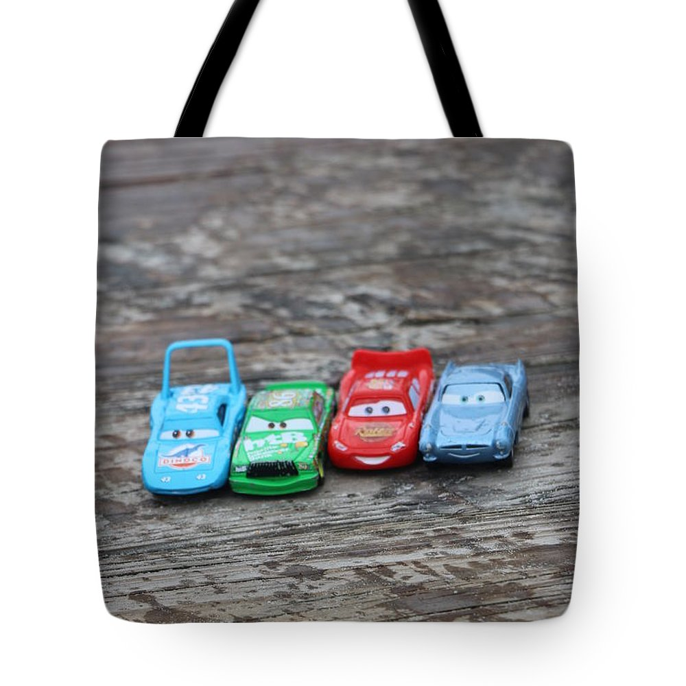 Cars Tote Bag featuring the photograph Parking Lot by Kami Gauvey