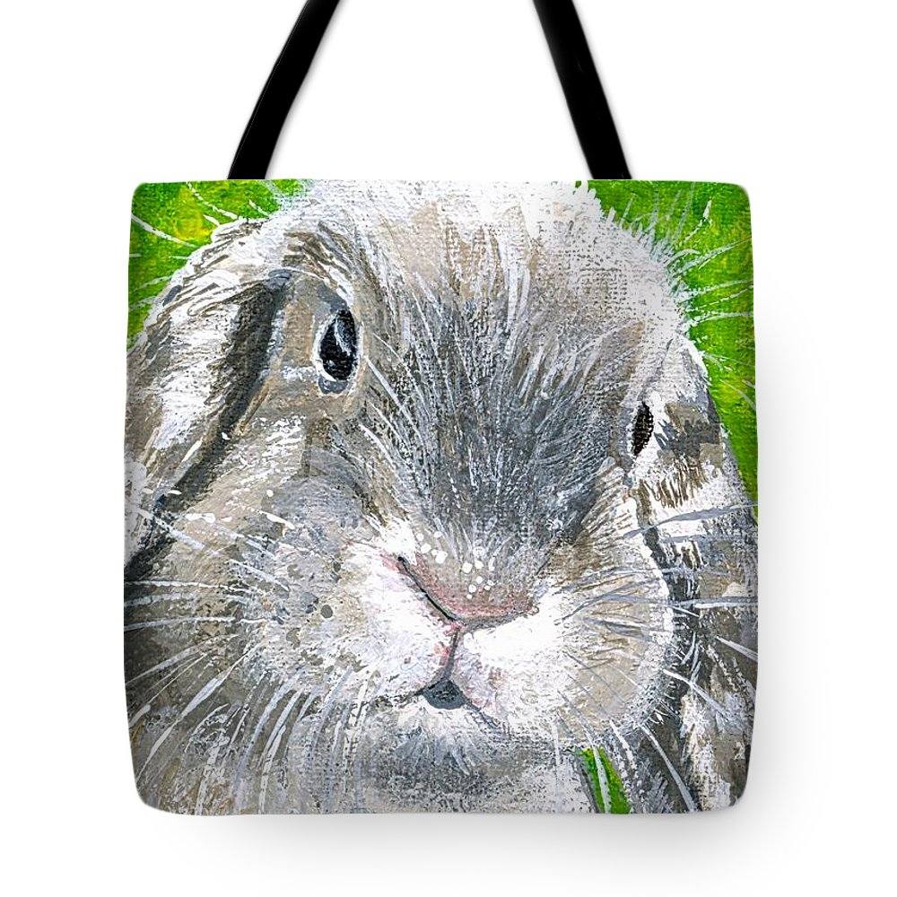 Charity Tote Bag featuring the painting Parsnip by Mary-Lee Sanders