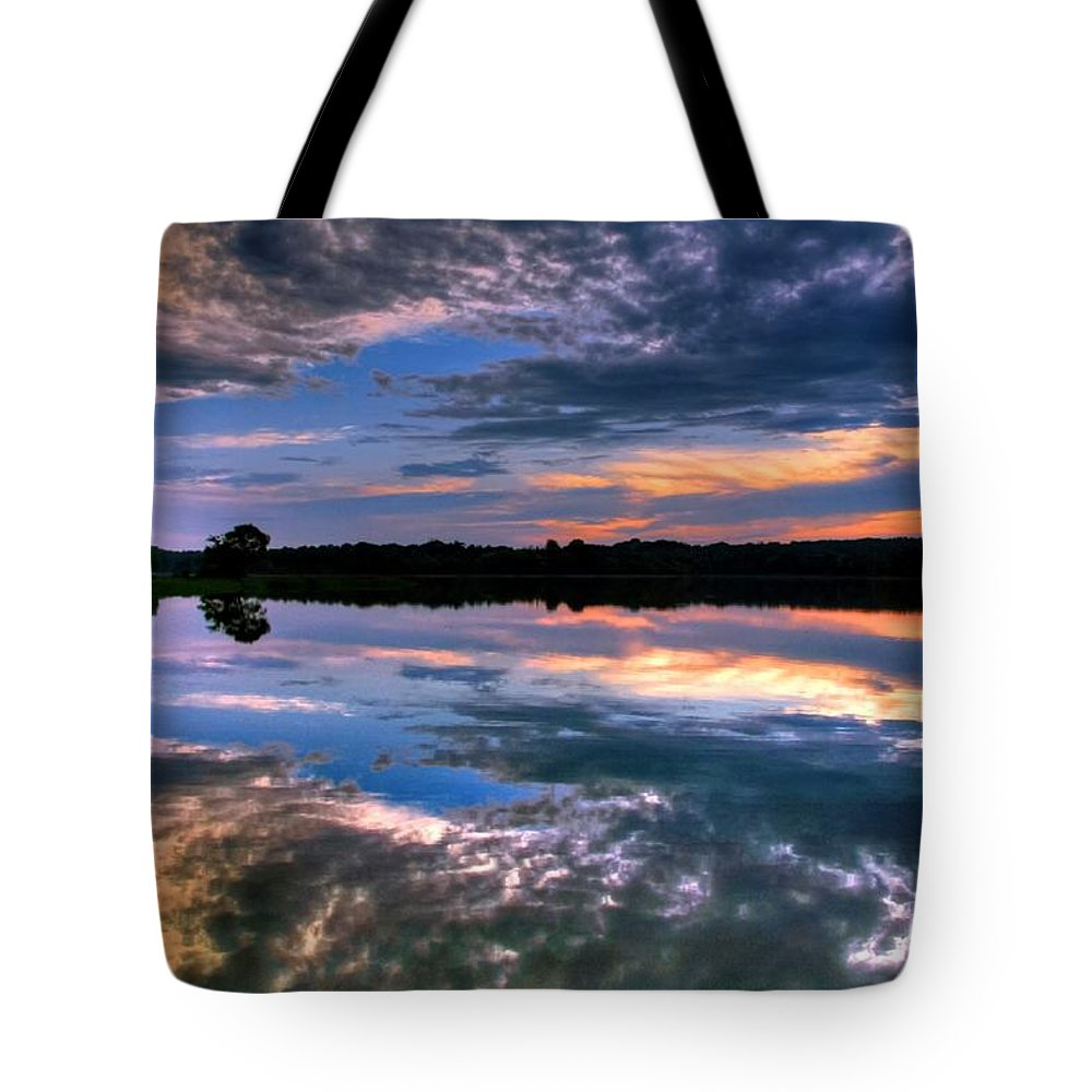 Sky Tote Bag featuring the photograph Part Of Creation by Mitch Cat