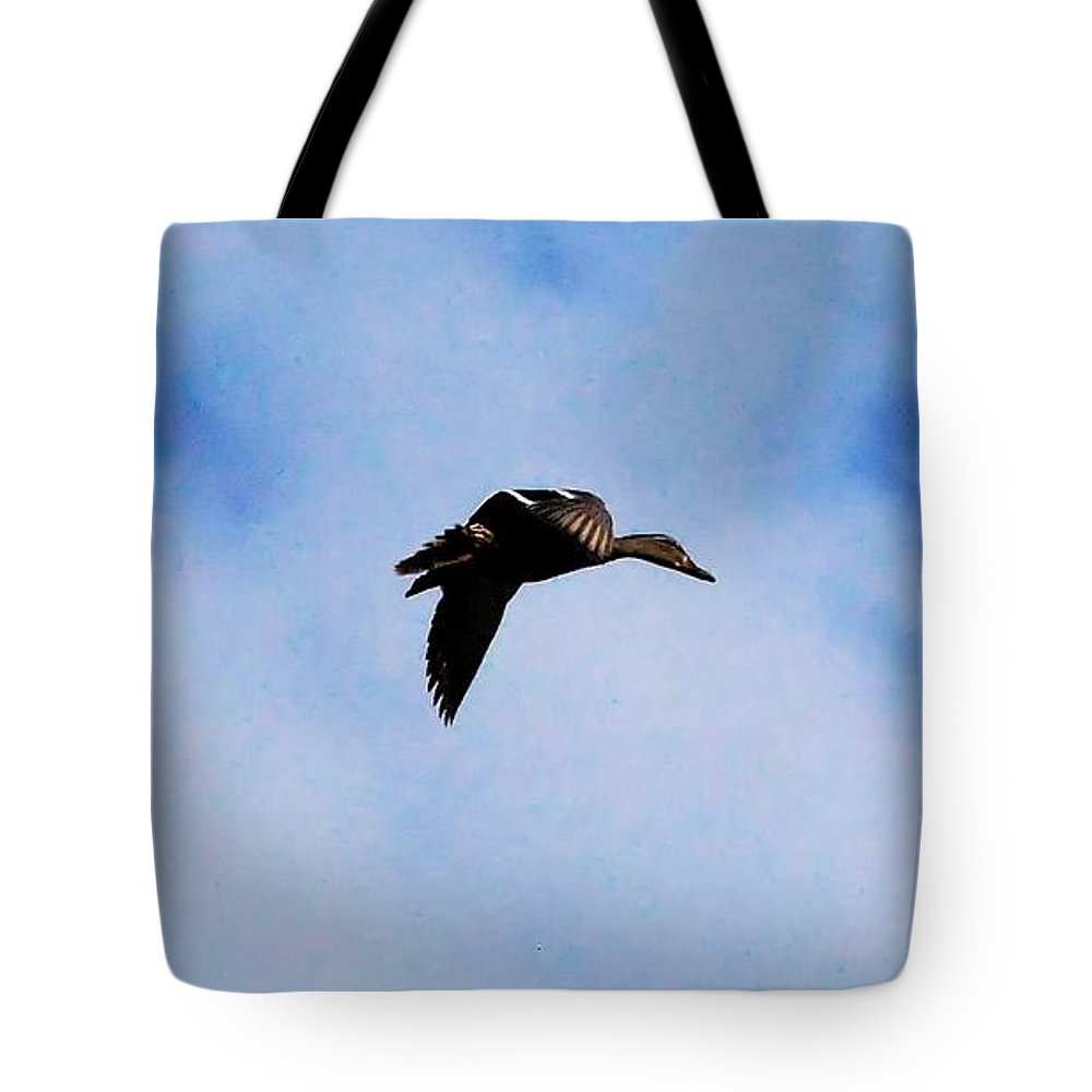 Digital Photography Tote Bag featuring the photograph Partners by David Lane