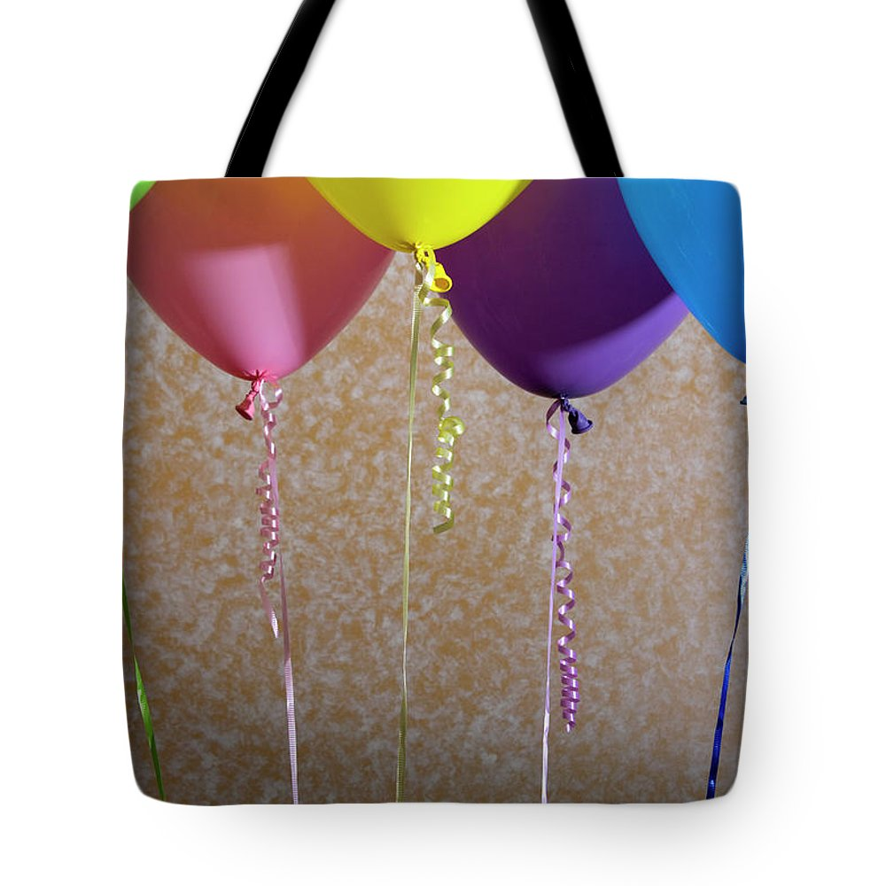 Five Tote Bag featuring the photograph Party Time by Diane Macdonald