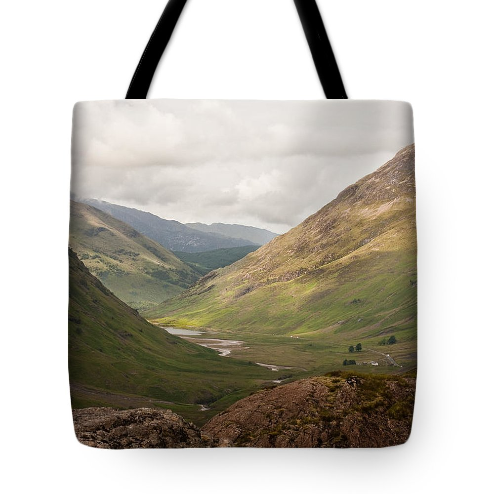 Scotland Tote Bag featuring the photograph Pass Of Glencoe II by Colette Panaioti