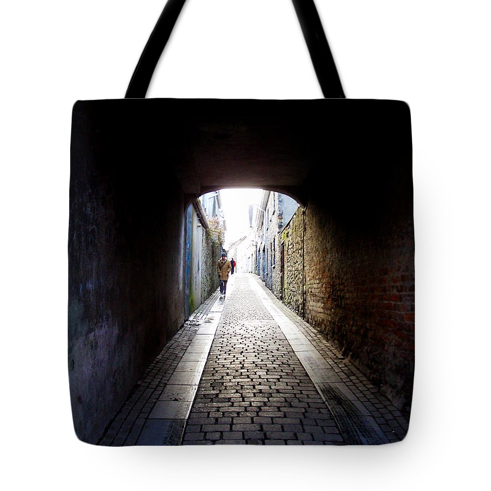 Cooblestone Tote Bag featuring the photograph Passage by Tim Nyberg