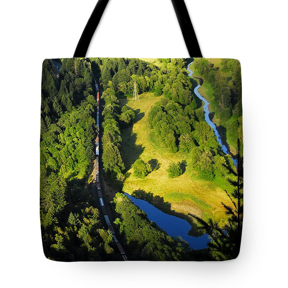 Passage Of Time Tote Bag featuring the photograph Passage Of Time by David Lee Thompson