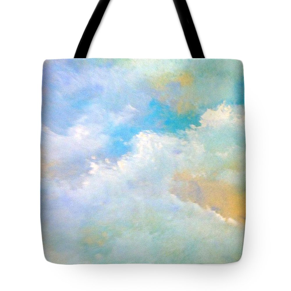 Truck Tote Bag featuring the painting Passing By by Lord Frederick Lyle Morris - Disabled Veteran