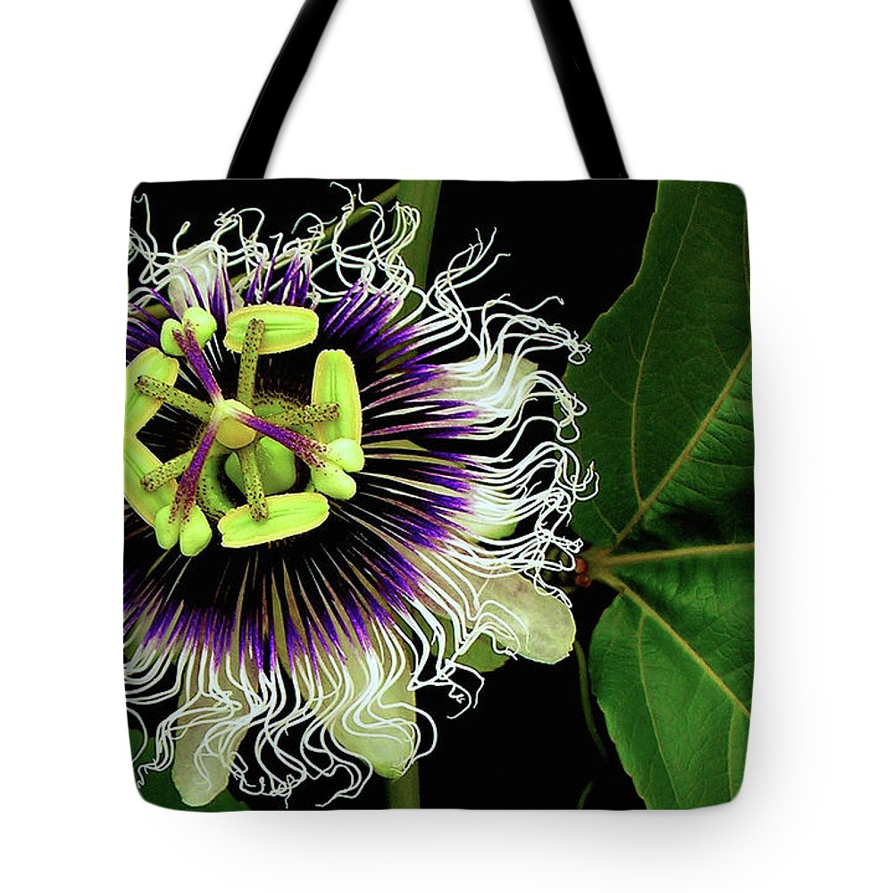 Hawaii Iphone Cases Tote Bag featuring the photograph Passion Flower by James Temple