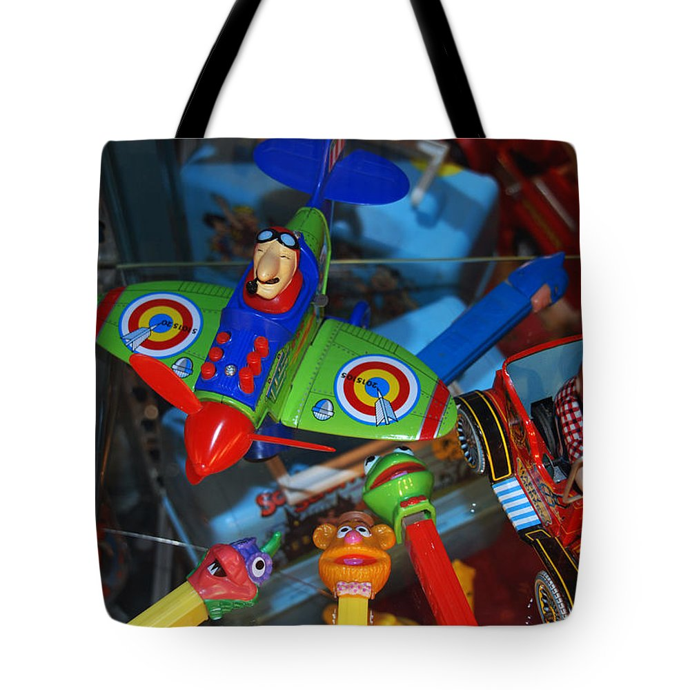 Toys From The 50s And The 60s Tote Bag featuring the photograph Past Memories by Susanne Van Hulst