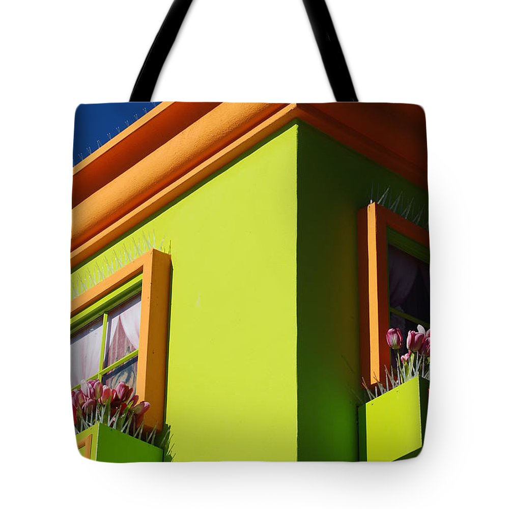 Sky Tote Bag featuring the photograph Pastle Corners by Rob Hans