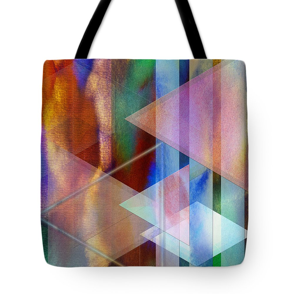 Pastoral Midnight Tote Bag featuring the digital art Pastoral Midnight by John Beck