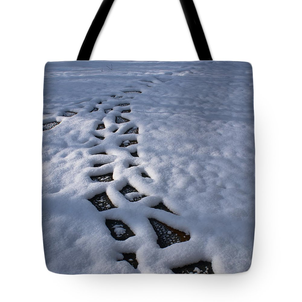 Path Tote Bag featuring the photograph Path by Douglas Barnett