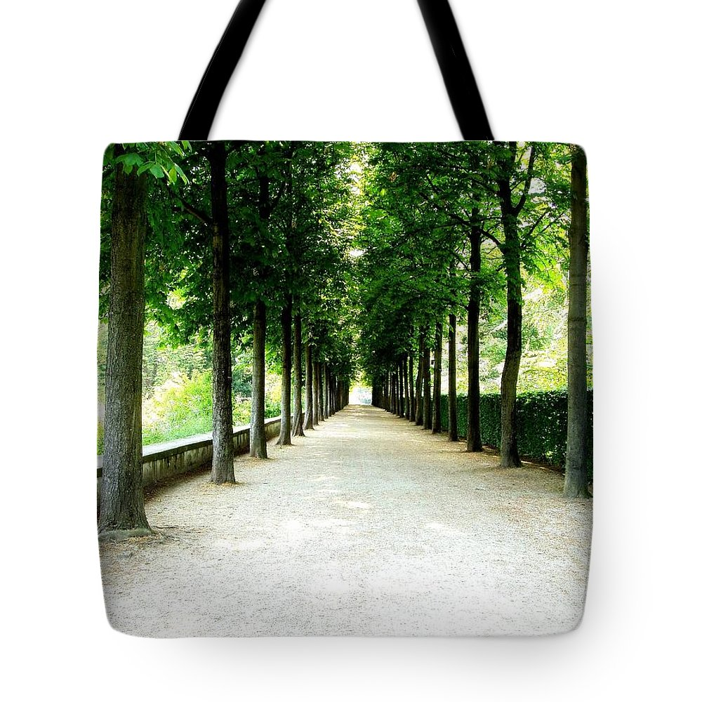 Path Tote Bag featuring the photograph Pathway by Deborah Crew-Johnson