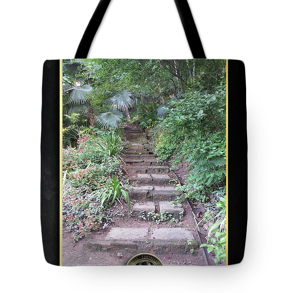 Pathways Tote Bag featuring the digital art Pathways by Quintus Curtius