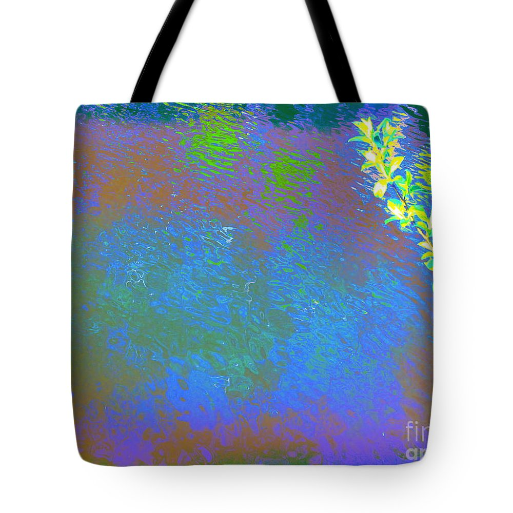 Water Art Tote Bag featuring the photograph Patient Earth by Sybil Staples