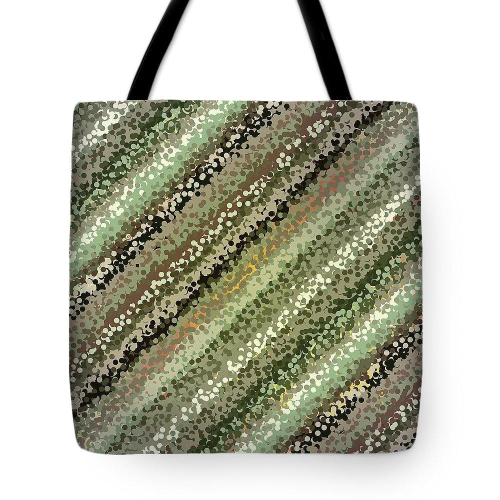Pattern 111 Tote Bag featuring the digital art Pattern 111 by Marko Sabotin