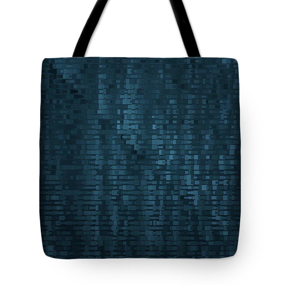 Pattern 75 Tote Bag featuring the digital art Pattern 75 by Marko Sabotin