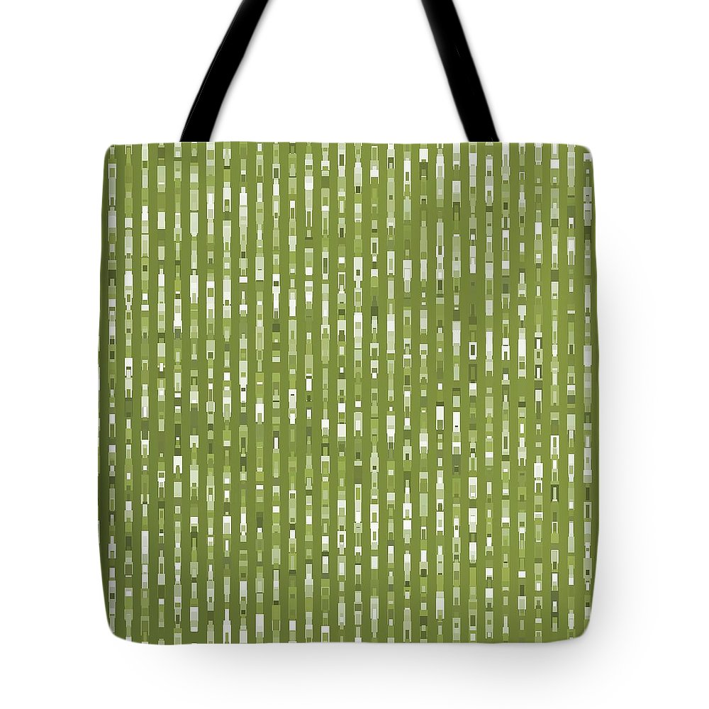 Pattern 76 Tote Bag featuring the digital art Pattern 76 by Marko Sabotin