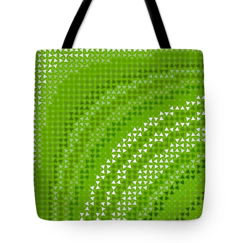 Pattern 79 Tote Bag featuring the digital art Pattern 79 by Marko Sabotin