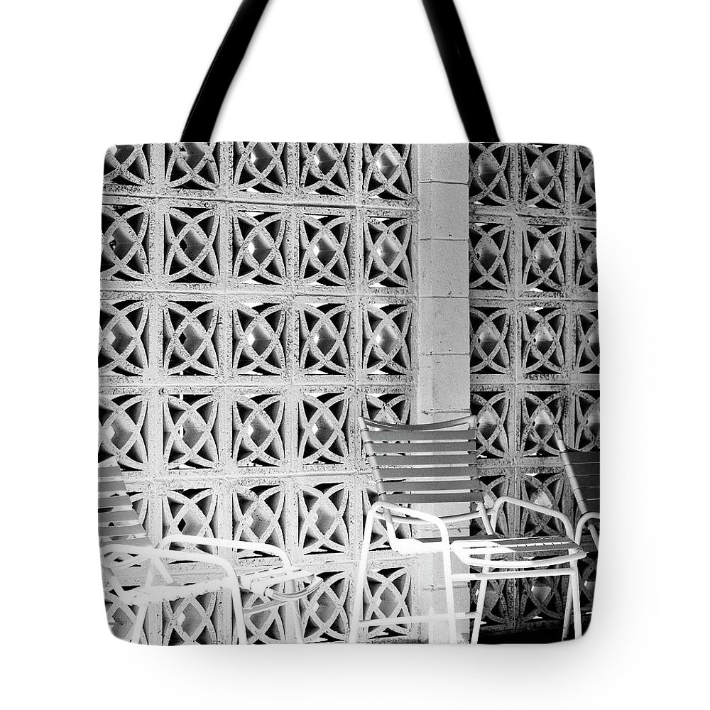 Seven Lakes Tote Bag featuring the photograph Pattern Recognition Palm Springs by William Dey