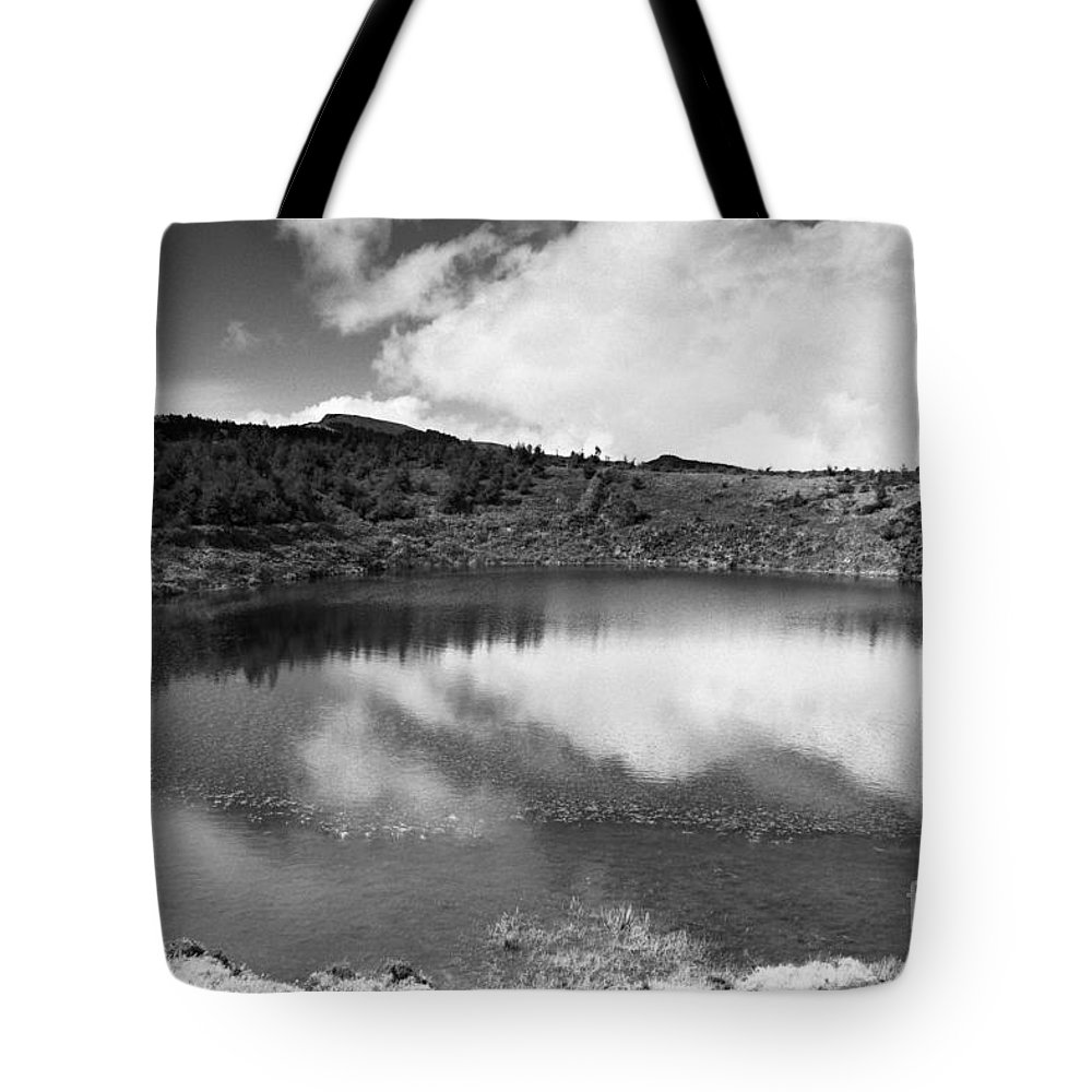 Lake Tote Bag featuring the photograph Pau-pique Lake by Gaspar Avila
