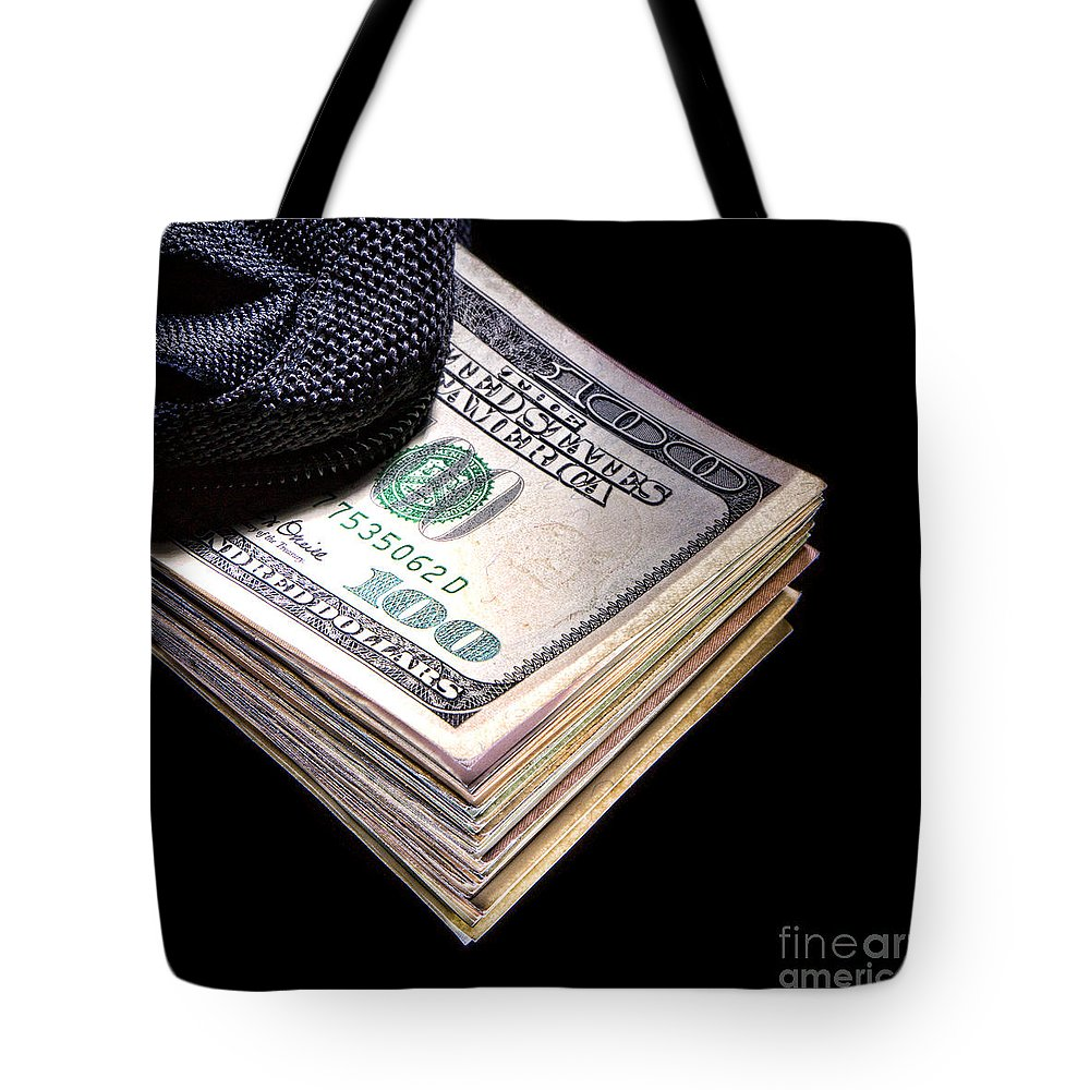 Dollar Tote Bag featuring the photograph Payout by Olivier Le Queinec