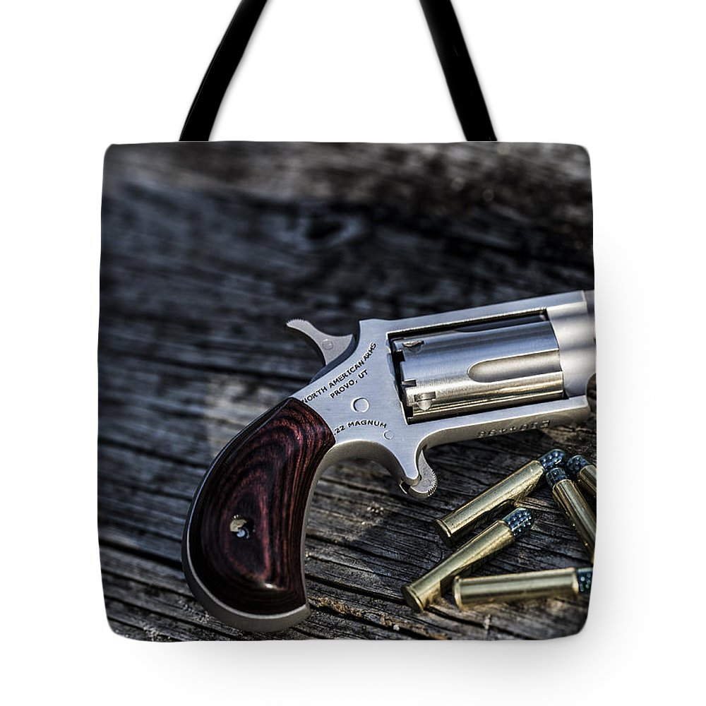 Gun Tote Bag featuring the photograph Pea Shooter by Keith May