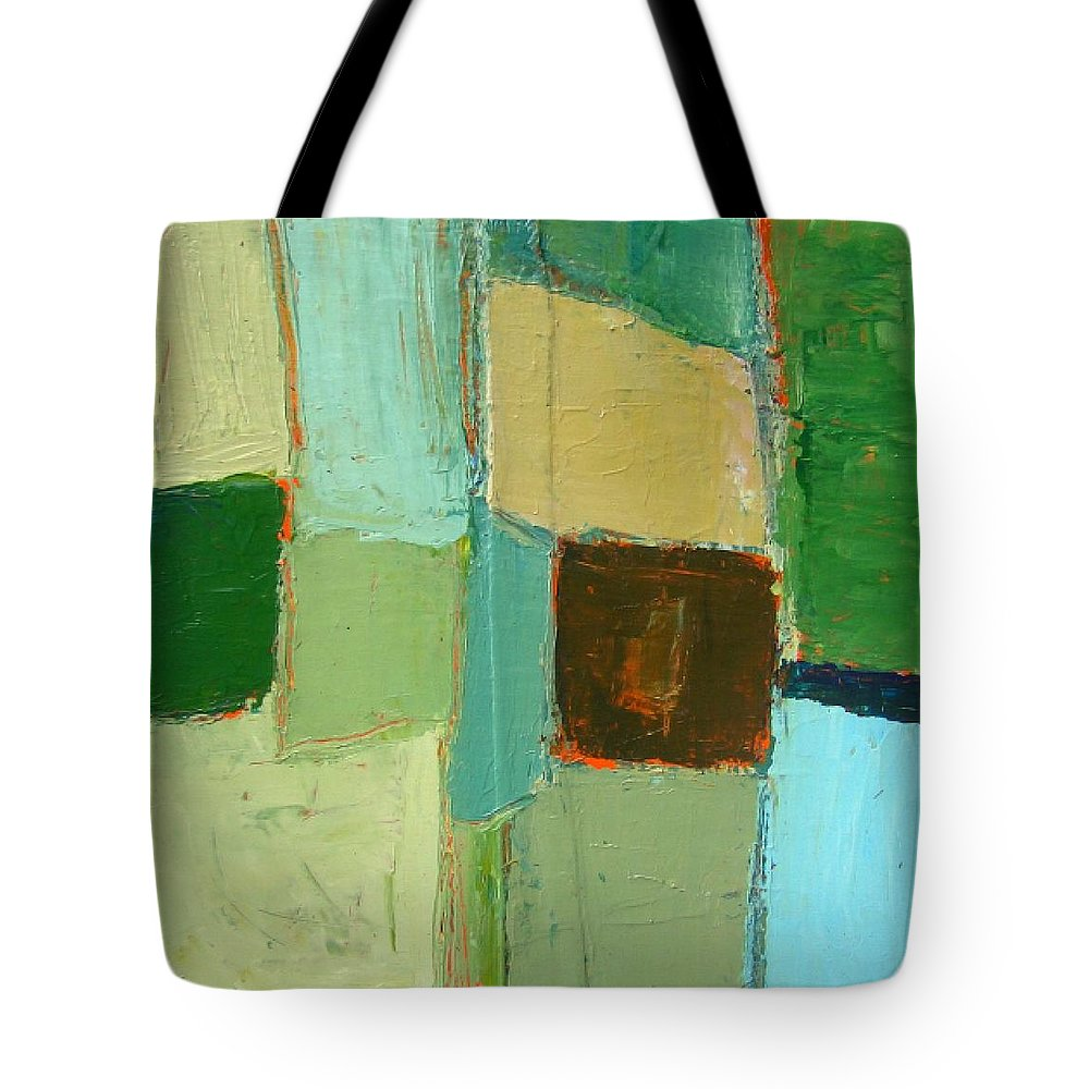 Tote Bag featuring the painting Peace 2 by Habib Ayat