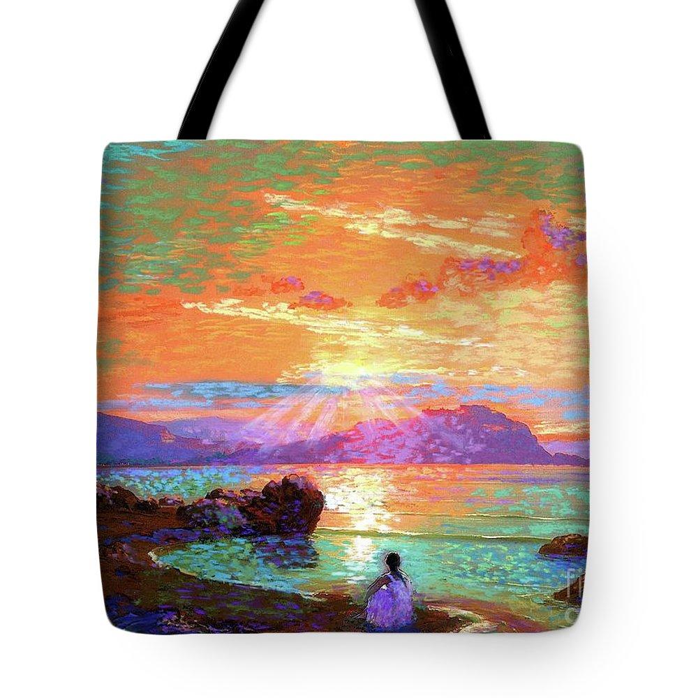 Hawaiian Sunset Tote Bags