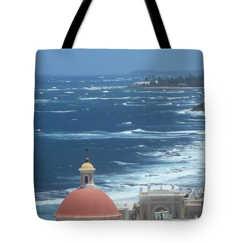 Caribbean Tote Bag featuring the photograph Peace By The Sea by Rauno Joks