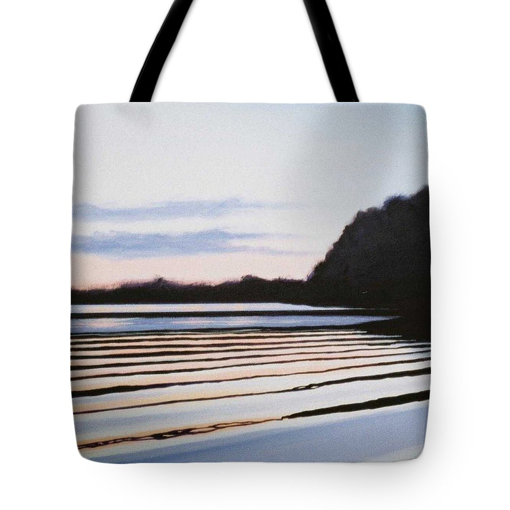 Peace Project Tote Bag featuring the painting Peace by Hunter Jay