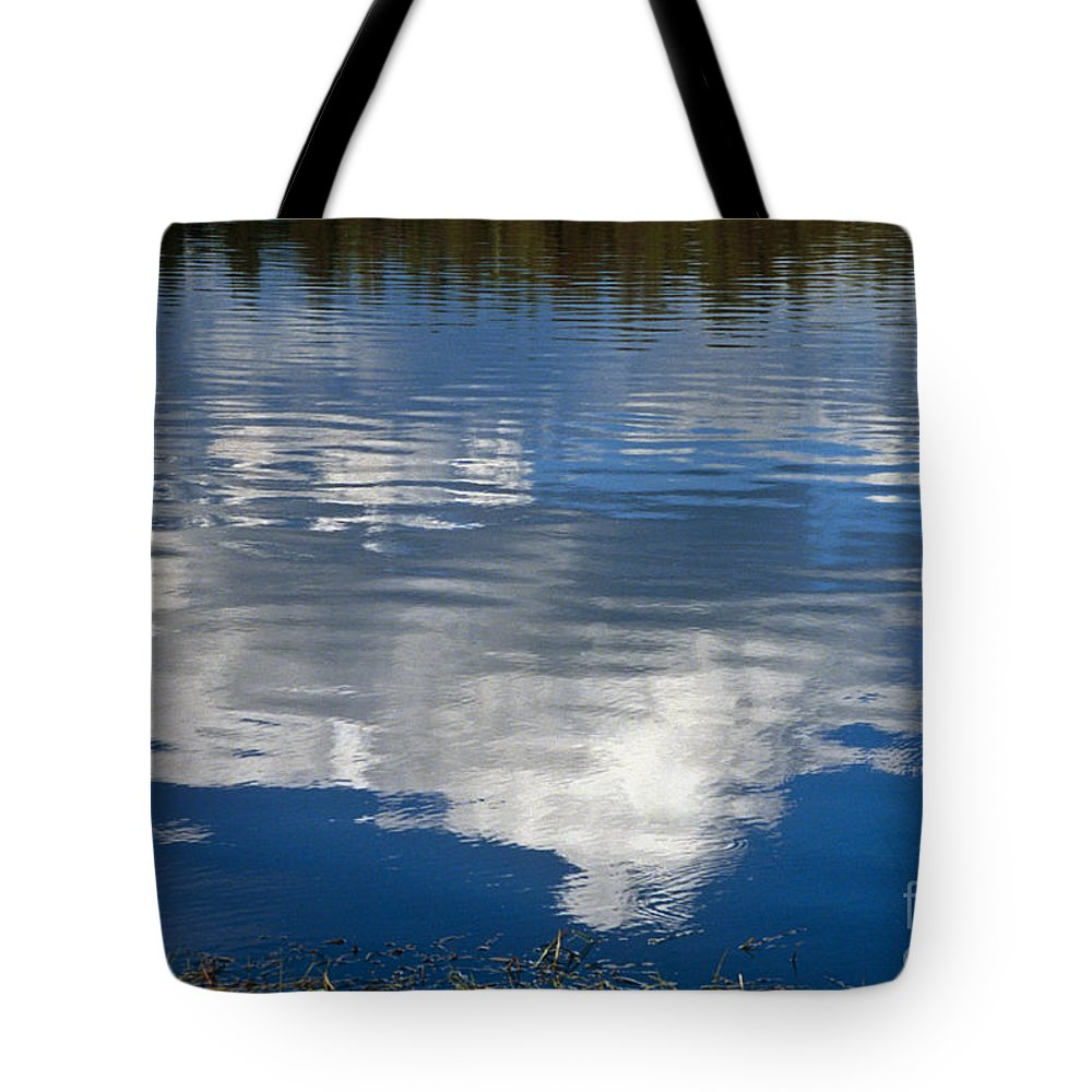 Landscape Tote Bag featuring the photograph Peace by Kathy McClure