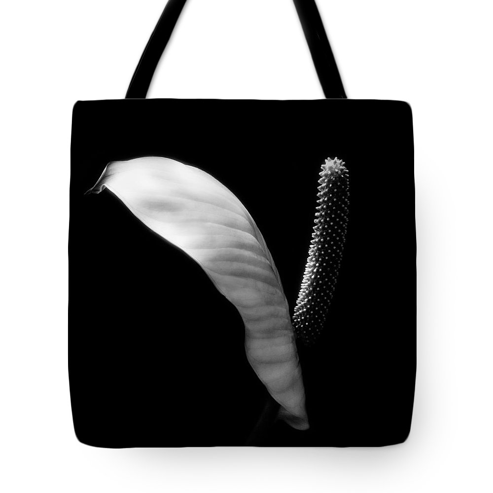 Tote Bag featuring the photograph Peace Lilly by Marilyn Hunt