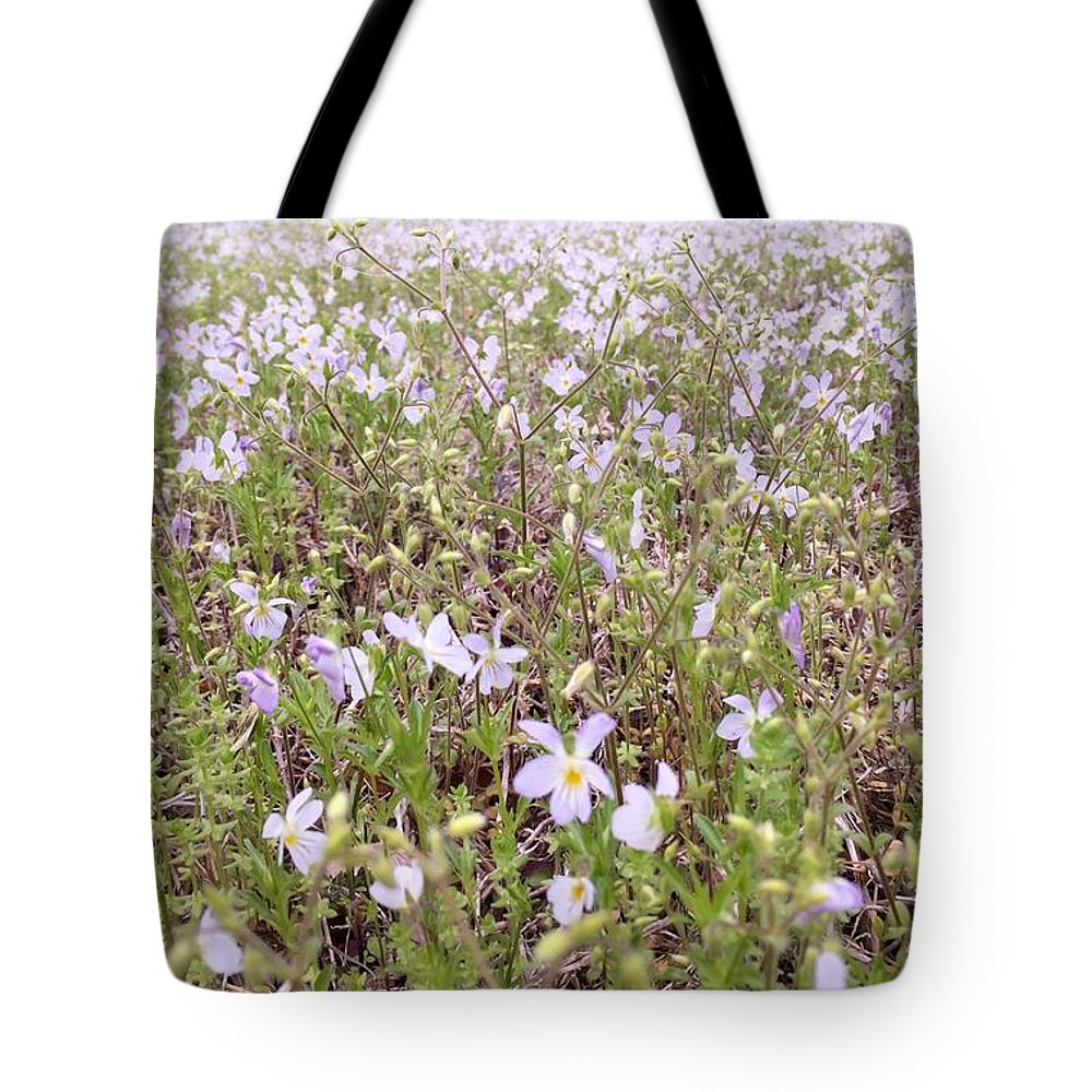 Flowers Tote Bag featuring the photograph Peace by TBlendI Seez