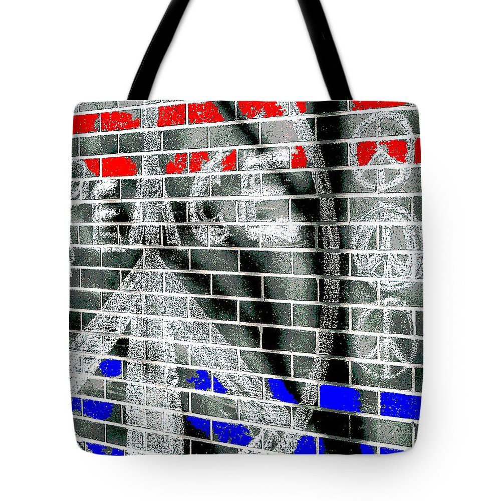 Peace Tote Bag featuring the photograph Peace Tree P by Gary Everson