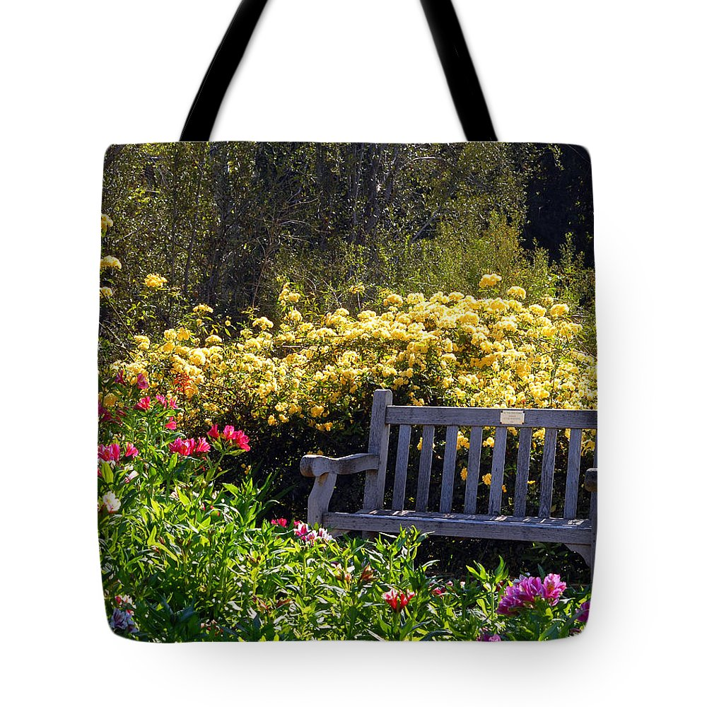 Flowers Tote Bag featuring the photograph Peaceful by Amy Fose