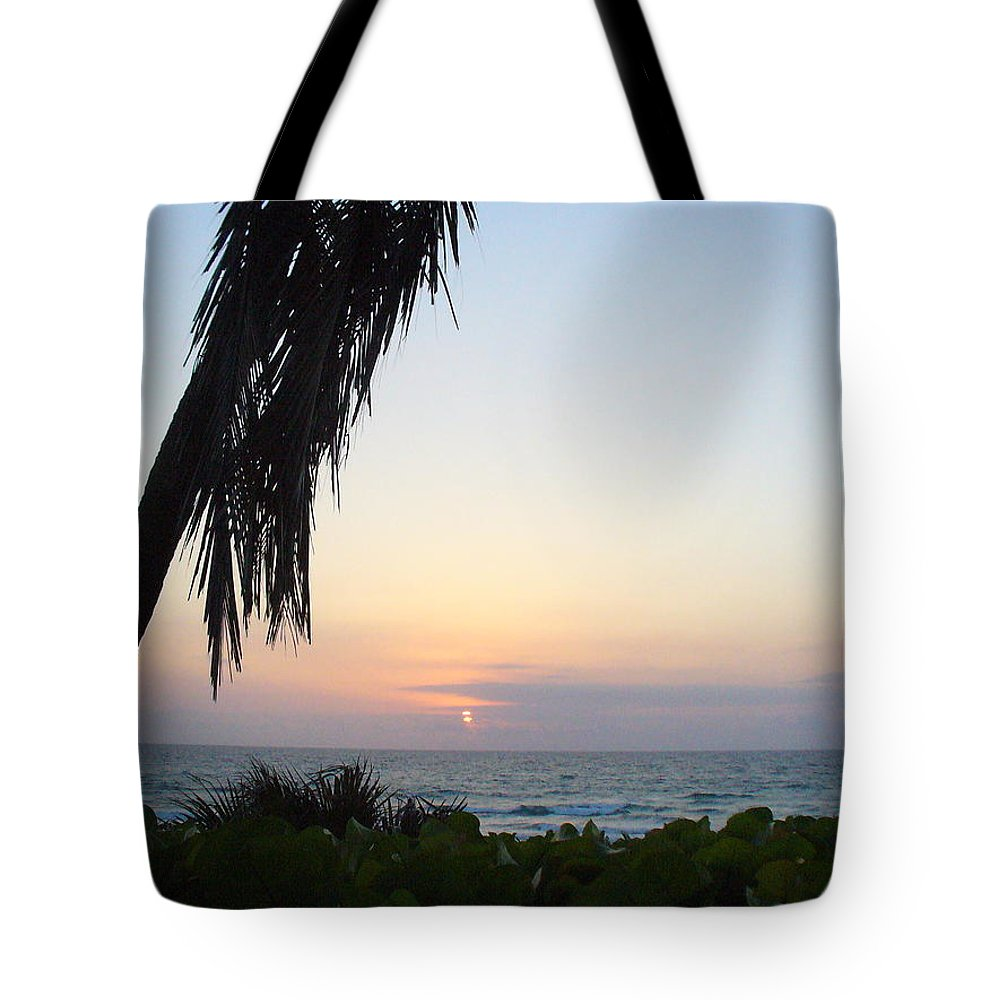Ocean Tote Bag featuring the photograph Peaceful Morning by Peggy King