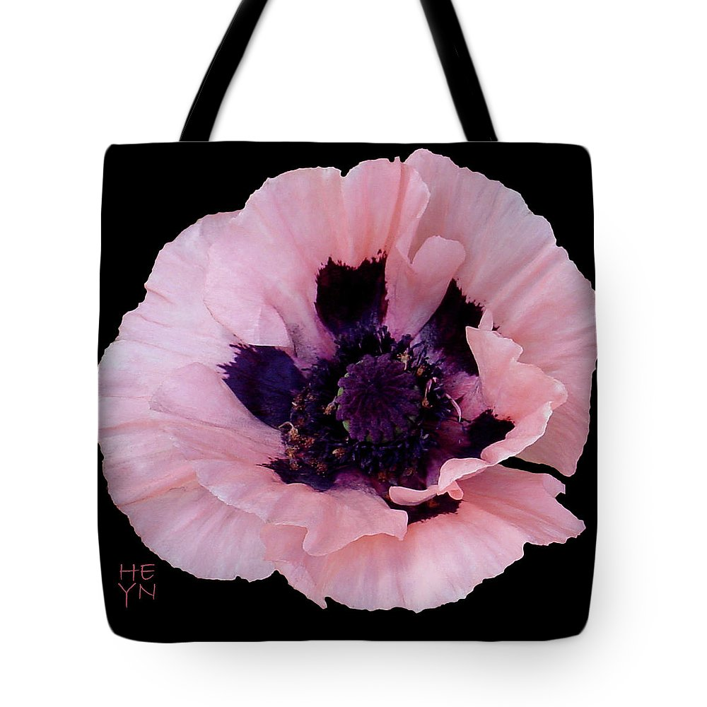 Cutout Tote Bag featuring the photograph Peach Poppy - Cutout by Shirley Heyn